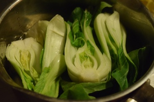 Steam Bok Choy