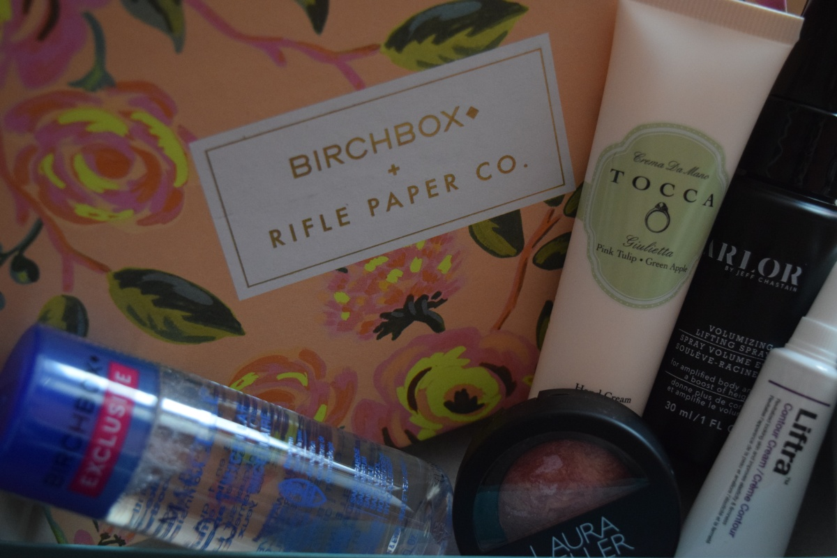 Birchbox: April 2016