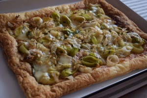 Savory Leek & Cabbage Tart