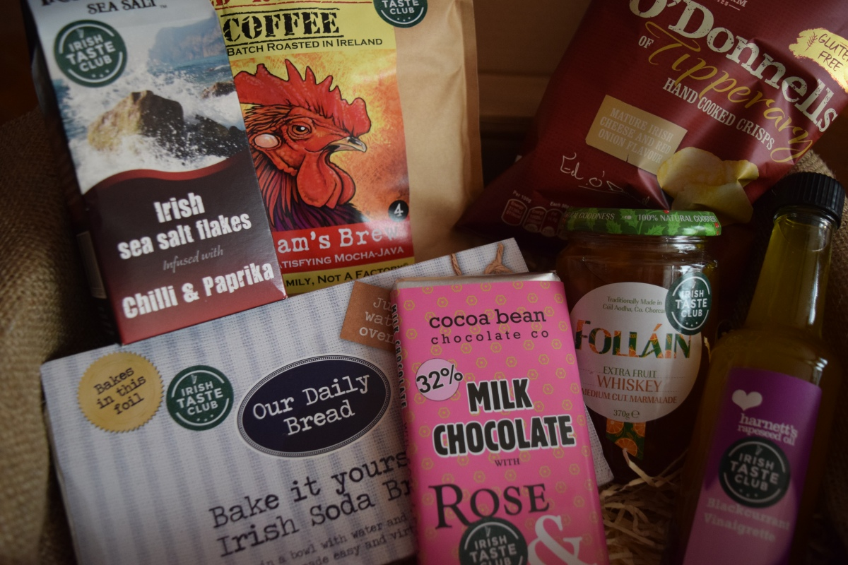 April Irish Taste Club & 10% Off Code!