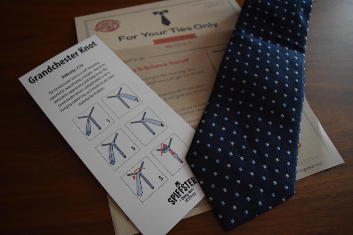 Spiffster Tie Box: June 2016 & 20% offCoupon