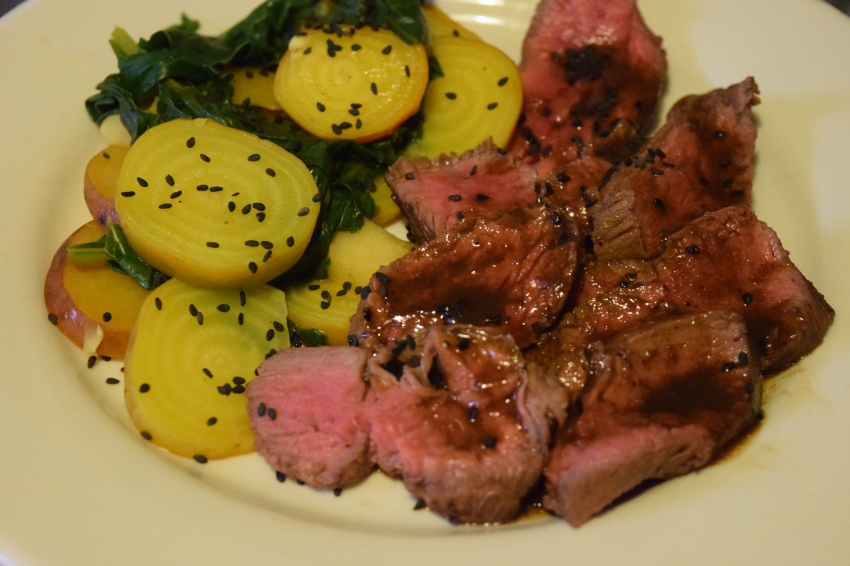 Pineapple Soy Steak
