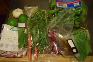 Pork Salad Ingredients