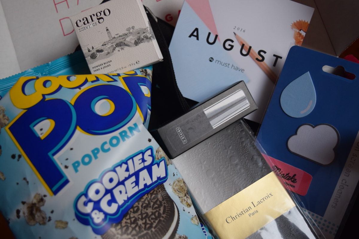 Popsugar: August 2016 + A New Box & October Spoilers!