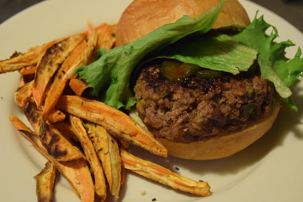 Marley Spoon: Tamari-Miso Beef Burgers & Indonesian Chicken Kebobs + $30 Off & Martha's ThanksgivingBox!