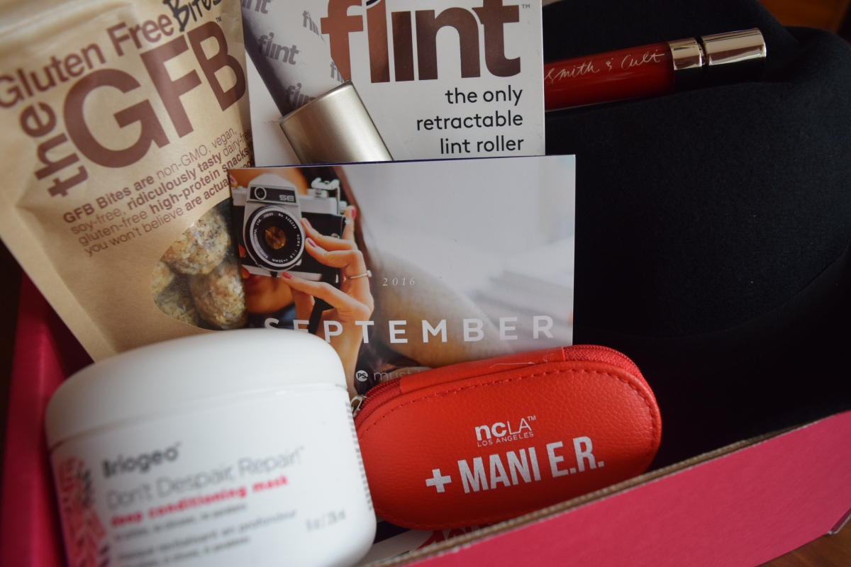 Popsugar: September Must Have Box + November & Neiman Marcus LE Box Spoilers & a Winter LE Box!