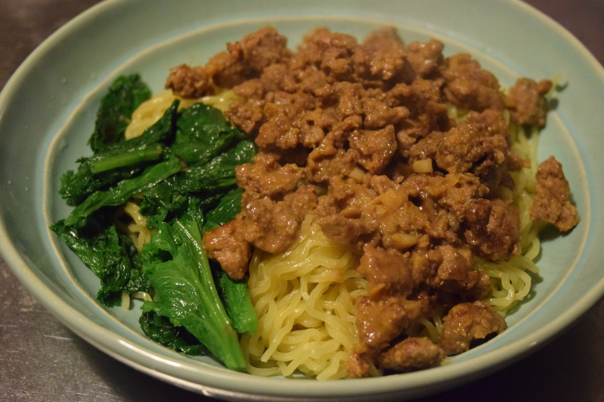 Marley Spoon: Pork Dan Dan Noodles & Broiled Steakhouse Salad + $30 Off