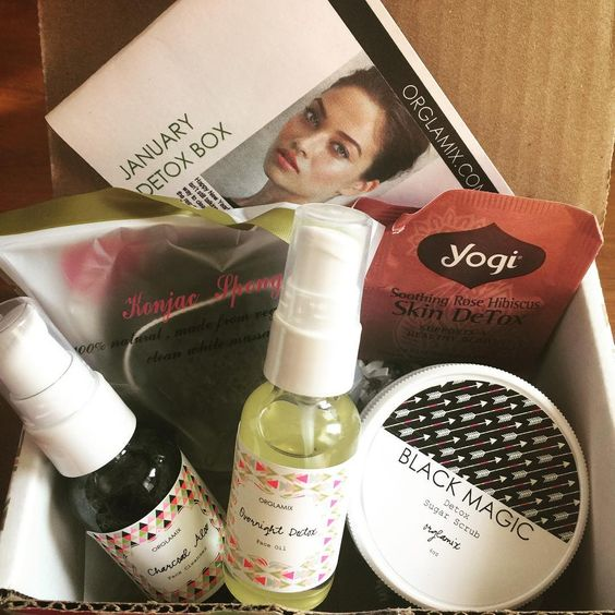 Orglamix Glam Box: January 2017 Detox Box + 25% Off