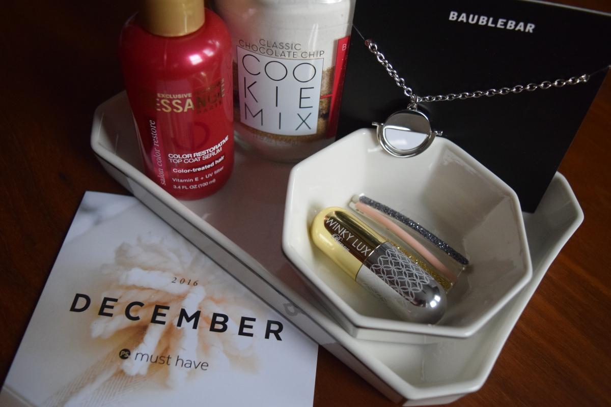 Popsugar: December 2016 Must Have Box + February 2017Spoilers!