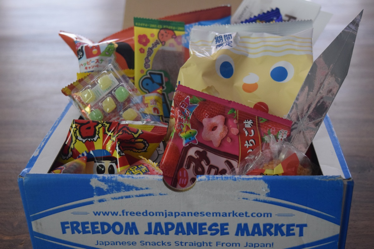Freedom Japanese Market: April 2017 + SpecialOffer