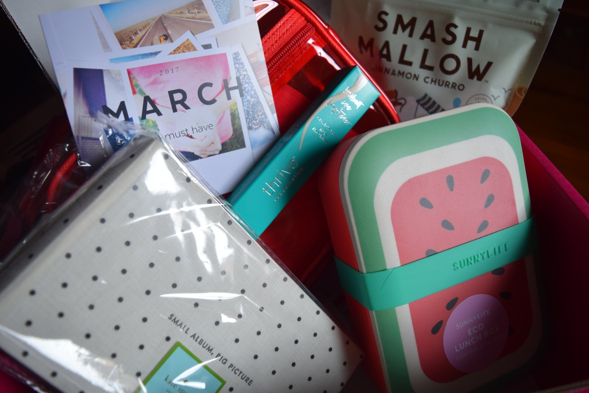 Popsugar: March 2017 Must Have & the Summer LEBox!