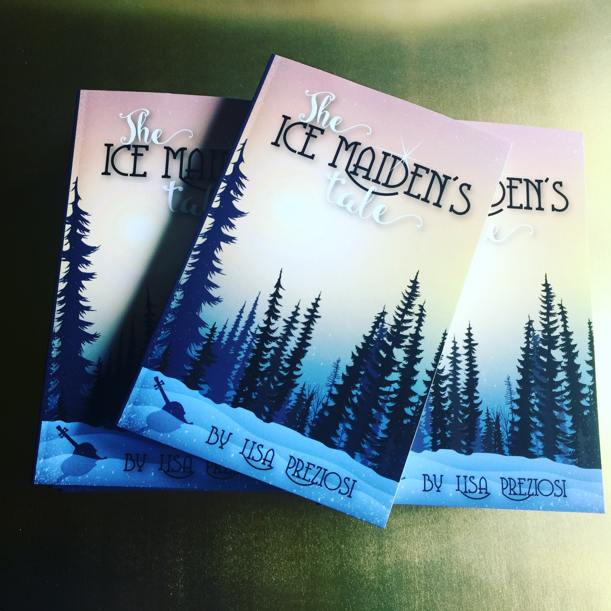 Writer's Shelf: The Ice Maiden's Tale Launch!