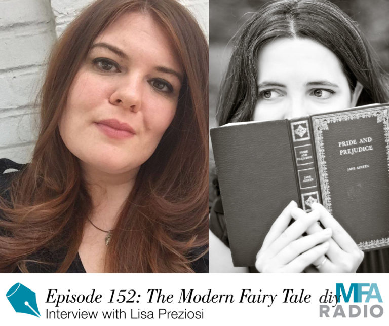 Writer's Shelf: Interview with DIY MFA – Writing a Modern Day Fairy Tale