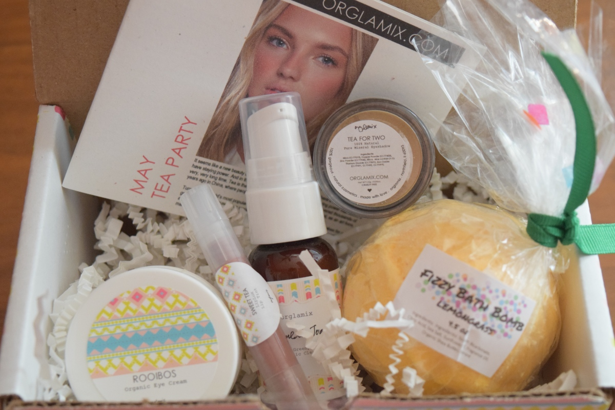 Orglamix Glam Box: May 2017 Tea Party + 25% Off